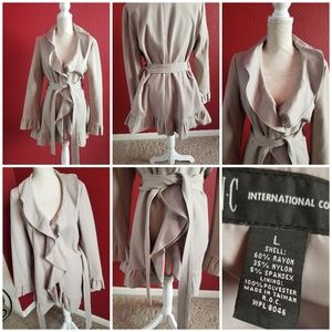Pre-owned INC Trench Coat